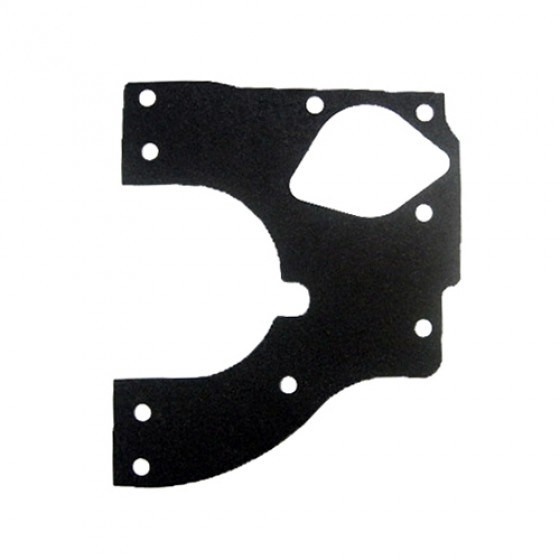 Front Engine Plate Gasket, 41-45 MB, GPW, CJ-2A, chain driven