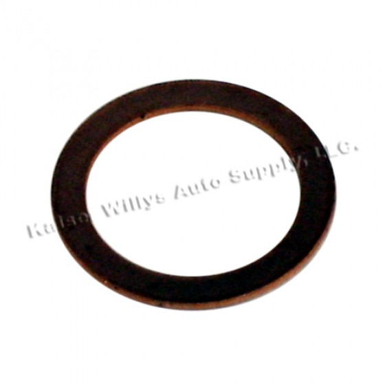 Master Cylinder Copper Crush Washer, 41-66 Jeep & Willys