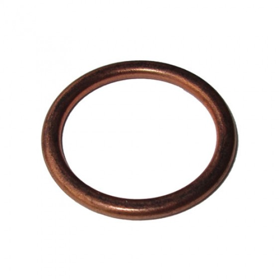 Oil Pan Drain Plug Gasket, Copper, 41-71 Jeep & Willys