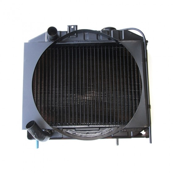 Radiator Assembly with Shroud, 41-52 MB, GPW, CJ-2A, M38