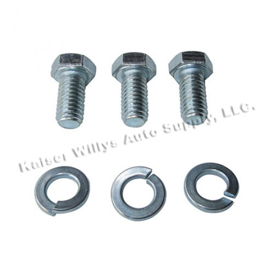Thermostat to Cylinder Head Hardware Kit, 41-53 Jeep & Willys with 4-134 L engine