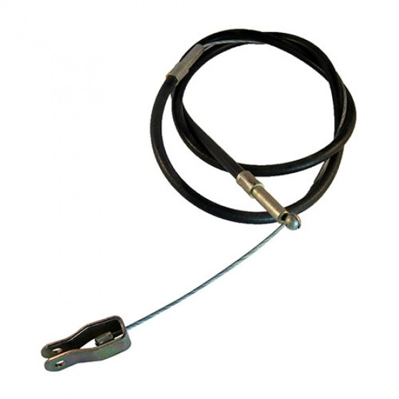 Front Hand Brake Cable, 46-55 Station Wagon with Planar Suspension