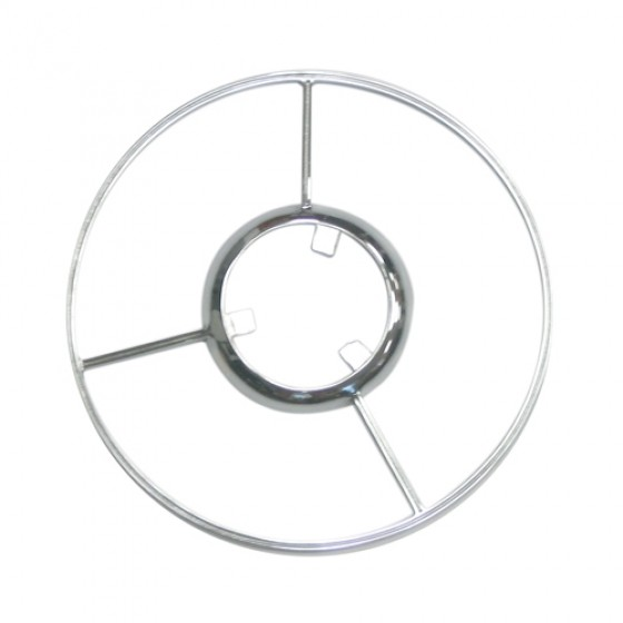 Show Quality Chrome Steering Wheel Horn Ring, 46-49 Station Wagon, Jeepster
