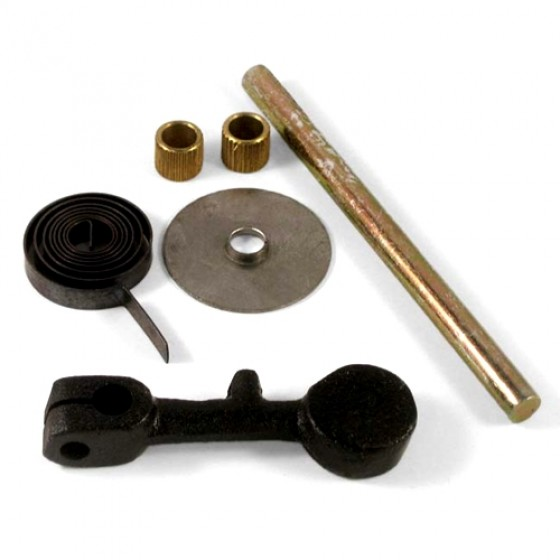 Exhaust Manifold Heat Riser Repair Kit, 41-53 Jeep & Willys with 4-134 L engine