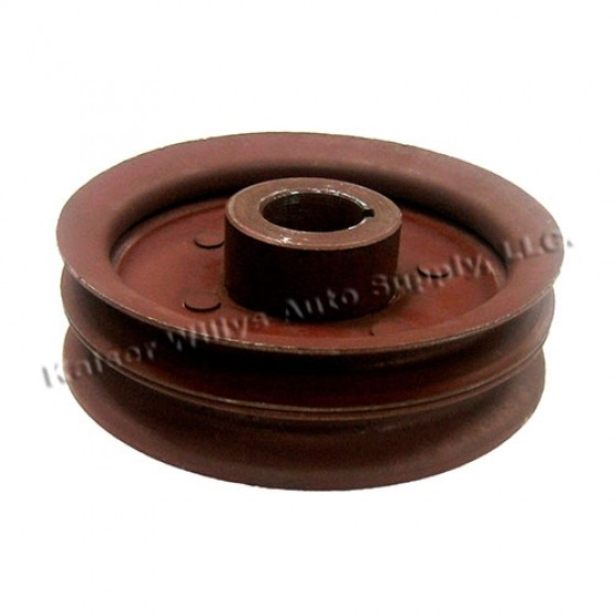 Double Groove Crankshaft Pulley, 41-71 Jeep & Willys with 4-134 engine