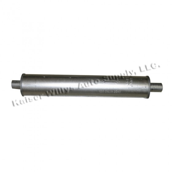 Exhaust Muffler, 46-55 Jeepster, Station Wagon with Planar Suspension