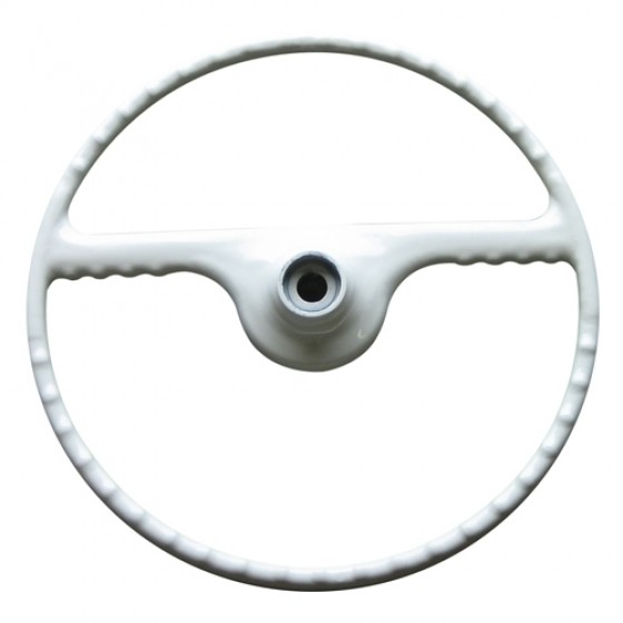 Ivory Steering Wheel, 50-64 Willys Truck, Station Wagon, Jeepster