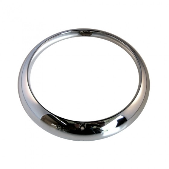 Chrome Headlight Bezel, 53-71 CJ-3B, 5