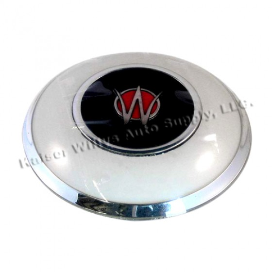 Plastic Horn Button in Ivory, 50-64 Willys Truck, Station Wagon, Jeepster