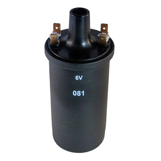 Ignition Coil 6 volt, 41-58 Jeep & Willys