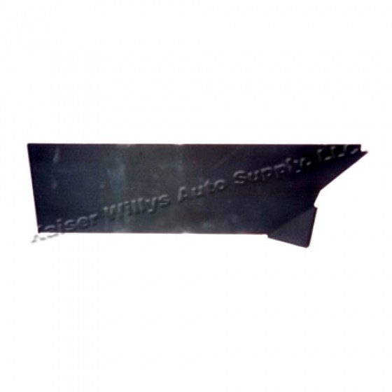 Rear Lower Wheel Guard Repair Panel for Drivers Side, 46-53 Willys CJ-2A, 3A