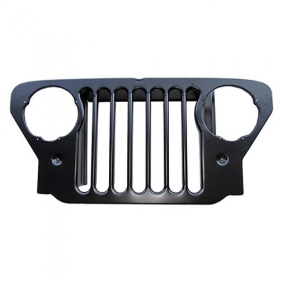 Steel Radiator Grille, 47-53 CJ-2A, 3A