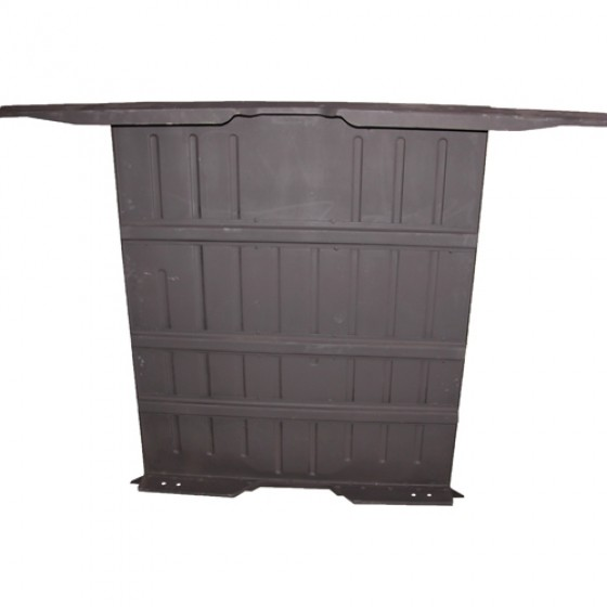 Complete Rear Floor Pan w/ Welded Braces & Riser, 50-52 M38