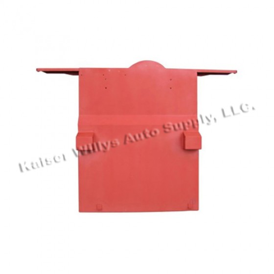 Rear Floor Pan w/ Welded Braces & Riser, 41-45 MB, GPW