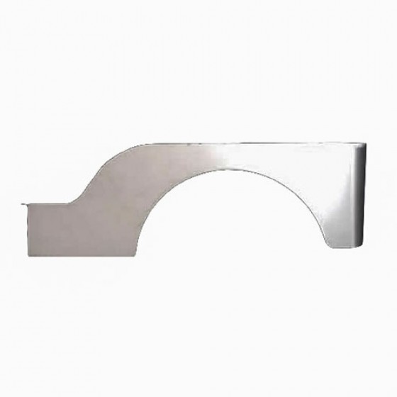 Rear Quarter Side Panel for Passenger Side (made in USA) Fits 46-53 CJ-2A, 3A, 3B, M38