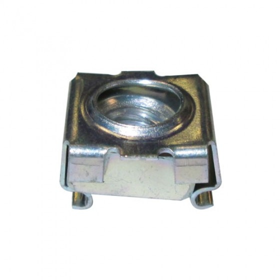Floor Plate Retainer Nut with Cage, 46-71 CJ-2A, 3A, 3B, 5