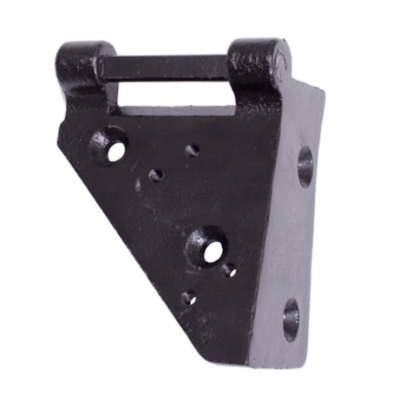 Lower Windshield Hinge, LH, 53-75 CJ-5, M38-A1