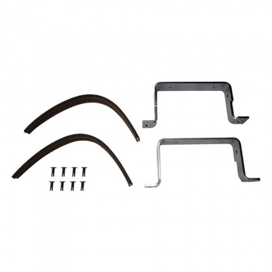 Windshield to Hood Rest Kit, Pair, 52-68 CJ-5, M38A1