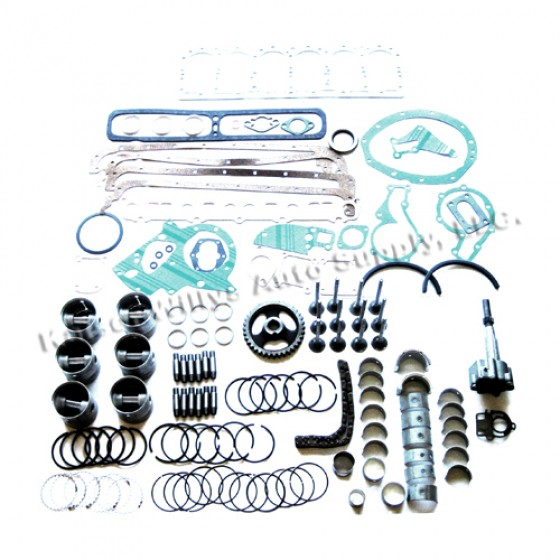 Complete Engine Overhaul Kit Fits 5464 Truck Station Wagon with – L226 6 Cylinder Engine Diagram