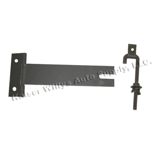First Aid Box Mounting Bracket, 50-52 Willys M38