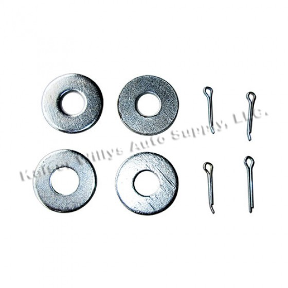 Radiator to Engine Support Rod Hardware Kit, 50-66 M38, M38A1