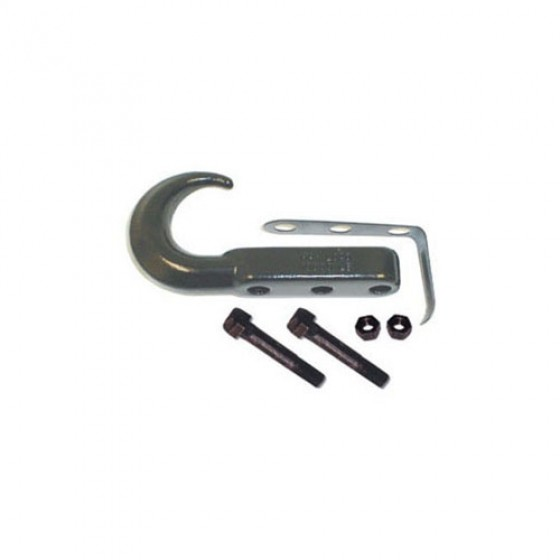 Front Tow Hook in Black, 76-86 CJ
