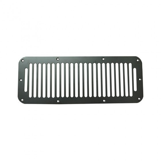 Cowl Vent Cover in Black, 76-86 CJ