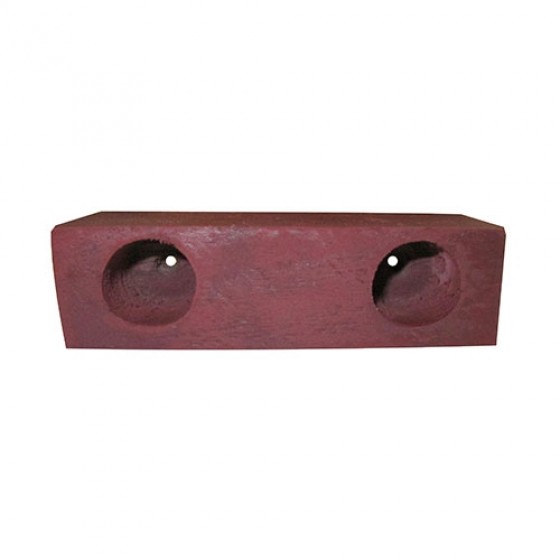 Wood Spacer Block for Hood,46-64 CJ-2A, 3A, 3B, M38