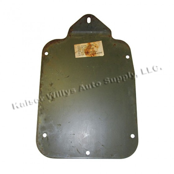 NOS Heater Access Engine Cover Plate, 50-66 M38, M38A1