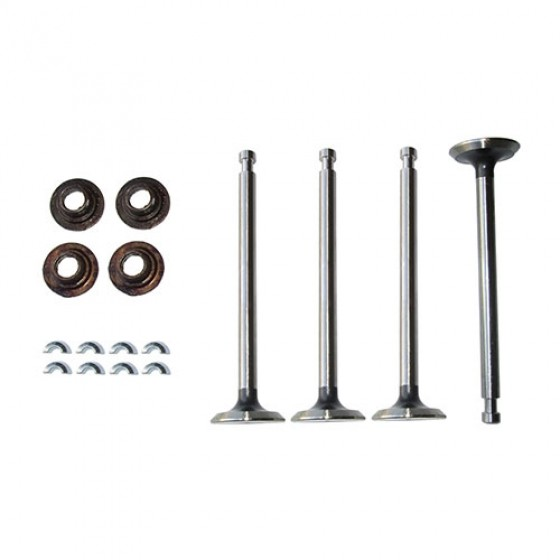 Exhaust Valve Rotator to Retainer Conversion Kit, 50-71 Jeep & Willys with 4-134 Engine