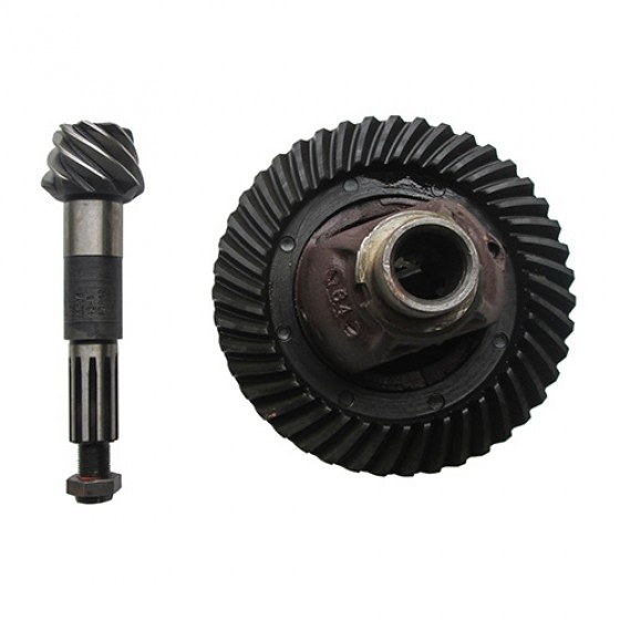 NOS Ring & Pinion with Differential Carrier Assembly, 46-71 Jeep & Willys with Dana 25 with 5.38 Ratio