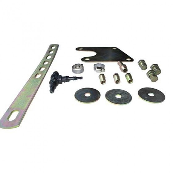 Brake Booster Kit with Vacuum Tank Fits 41-66 Jeep & Willys