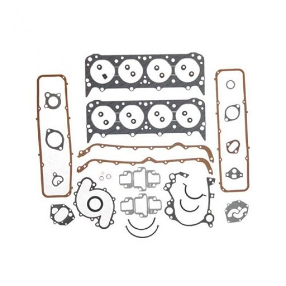 Engine Overhaul Gasket and Seal Kit, 76-86 CJ with V8 AMC 304
