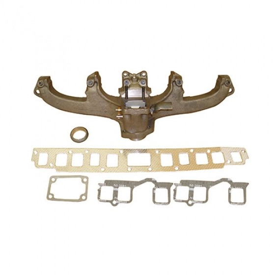 Exhaust Manifold Kit with Gasket, 76-80 CJ with 6 Cylinder 199 232 258