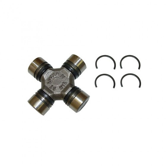 Spicer Non-Greasable U-Joint Kit, 76-86 CJ with Front Dana 30