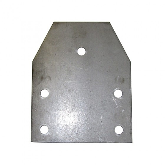 Rear Crossmember Support Plate, 46-66 CJ-2A, 3A, 3B, 5, M38, M38A1