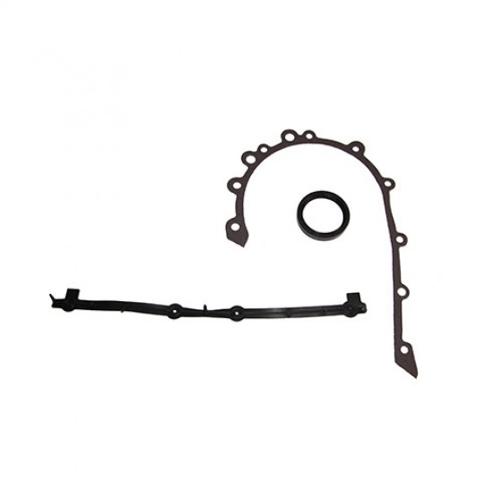 Timing Cover Gasket Set with Oil Seal, 76-86 CJ with 6 Cylinder 232 258