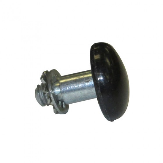 Black Door Lock Button, 46-64 Truck, Station Wagon