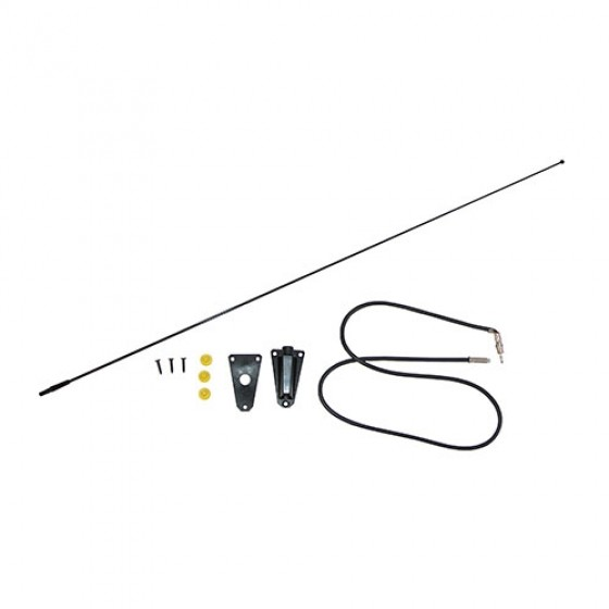 Radio Antenna Kit in Black, 76-95 CJ