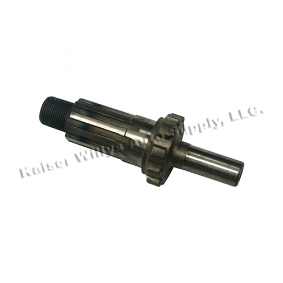 Front Output Clutch Shaft, 41-66 Jeep & Willys with Dana 18 transfercase