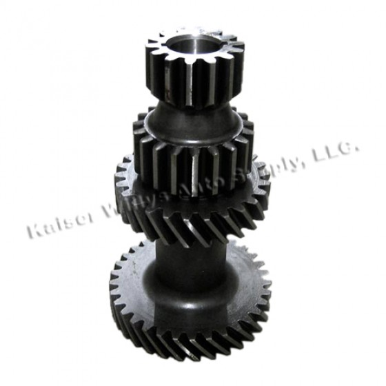 Transmission Countershaft Cluster Gear, 46-71 Jeep & Willys with T-90 Transmission