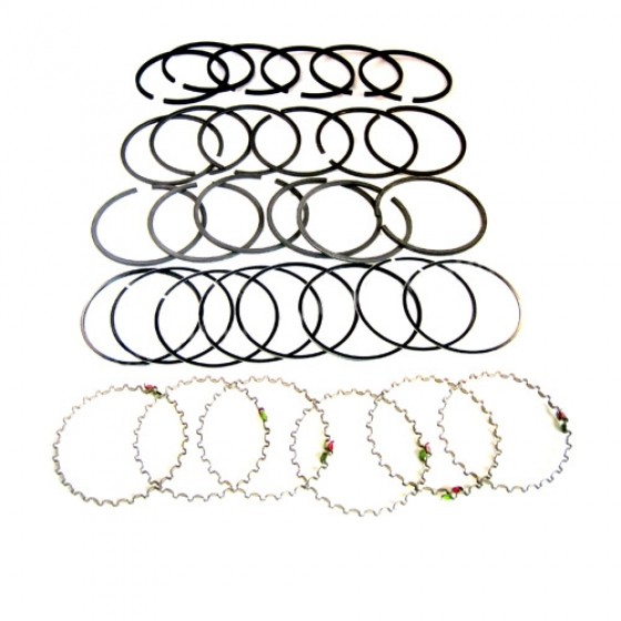 "New Complete Piston Ring Set - .060"" o.s. Fits 50-55 Station Wagon, Jeepser with 6-161 engine"