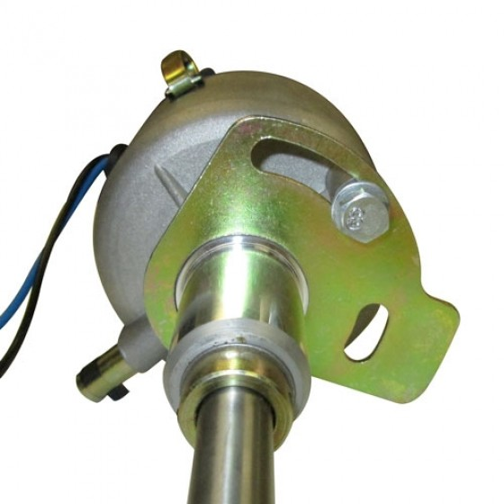 Complete Solid State Electronic Ignition Distributor 12 volt