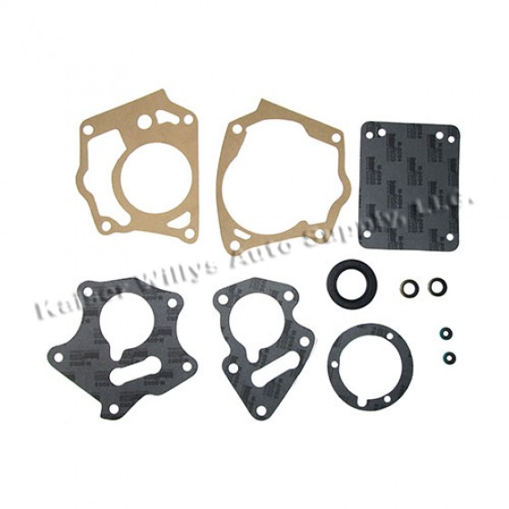 Deluxe Transmission Gasket Seal Set (with Overdrive) Fits 46-55 Jeepster, Station Wagon with T-96 Transmission