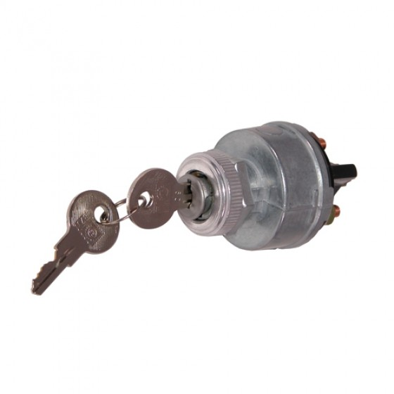 Ignition Switch with Keys Fits 46-71 Jeep & Willys on