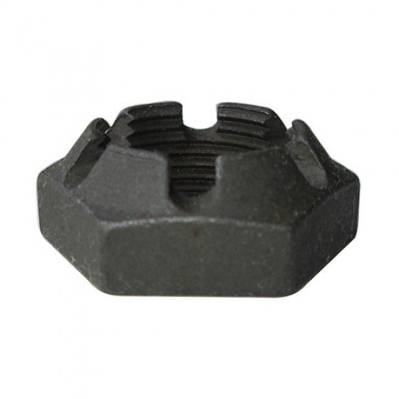 Transmission Main Shaft Nut, Castle Nut, 46-71 Jeep & Willys with T-90 Transmission