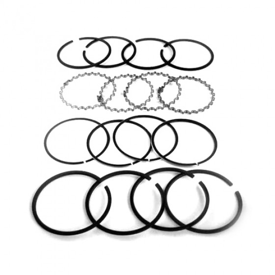 "Piston Ring Set - .080"" o.s. Fits 41-71 Jeep & Willys with 4-134 engine"