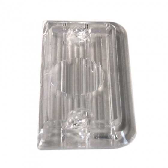 Clear Tail Light Lens, 67-72 Jeepster