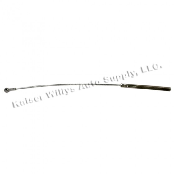 Clutch Release Cable, 54-64 Willys Truck, Station Wagon with 6-226 engine