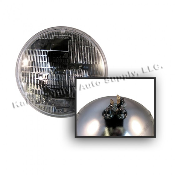 Sealed Beam Headlight Bulb 12 volt, 46-71 Jeep & Willys